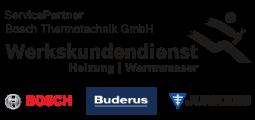 Service Partner Bosch Thermotechnik GmbH - Werkskundendienst Heizung und Warmwasser - Geräte der Marken Bosch, Buderus und Junkers